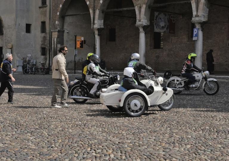 Piazza Sordello Mantova  - © Maurizio Aganetto